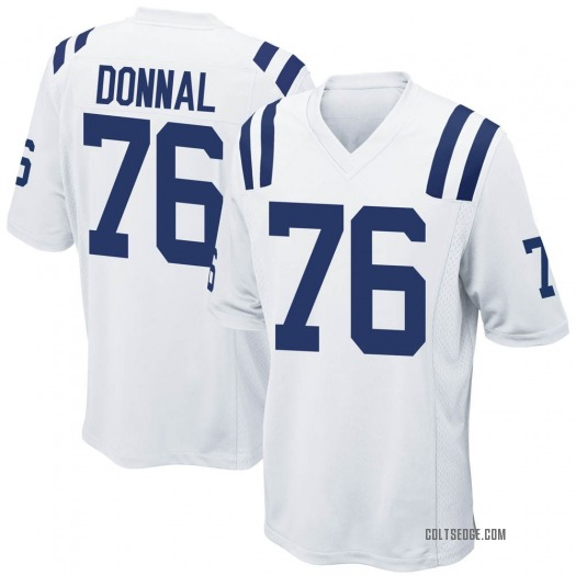 Nike Andrew Donnal Indianapolis Colts Game White Jersey - Men's