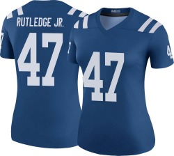 Nike Donald Rutledge Jr. Indianapolis Colts Legend Royal Color Rush Jersey - Women's
