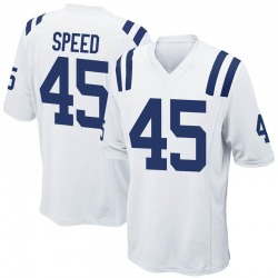 Nike E.J. Speed Indianapolis Colts Game White Jersey - Men's