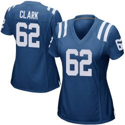 Nike Le'Raven Clark Indianapolis Colts Game Royal Blue Team Color Jersey - Women's