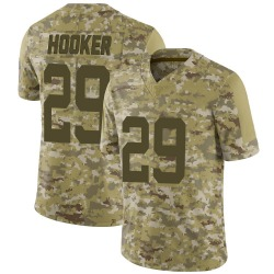 Nike Malik Hooker Indianapolis Colts Limited Camo 2018 Salute to Service Jersey - Youth