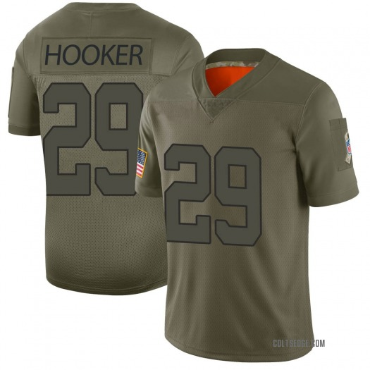Nike Malik Hooker Indianapolis Colts Limited Camo 2019 Salute to Service Jersey - Men's