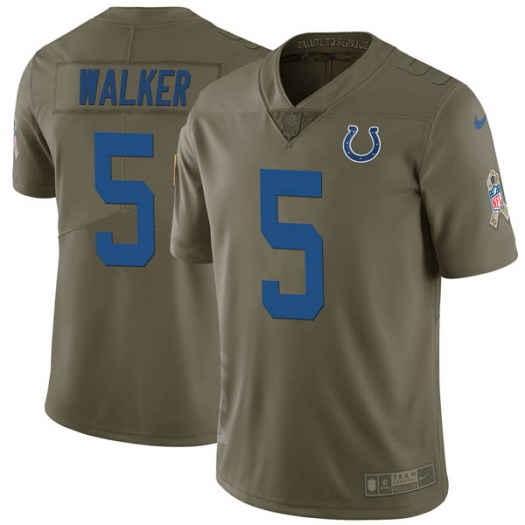 173252c61 Nike Phillip Walker Indianapolis Colts Limited Green 2017 Salute to Service  Jersey - Men s
